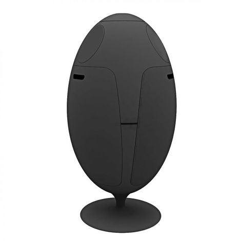 Poubelle de tri Ovetto 84x45 SOLDI DESIGN - Rotation à 360°