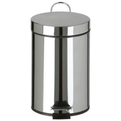 Poubelle inox Essencia pour sanitaires, 3 litres