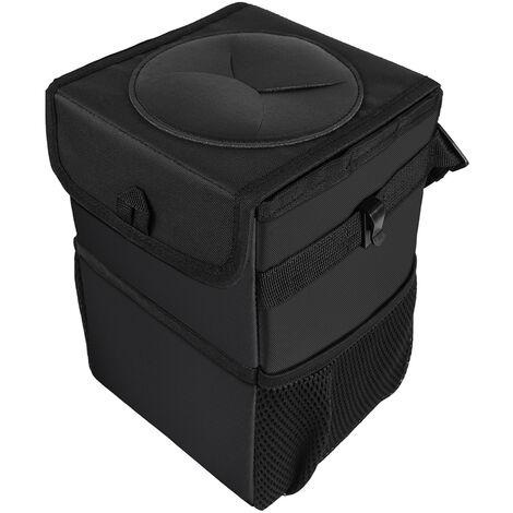 Poubelle pliante pour voiture, bagages impermeables et anti-fruits, bac de rangement arriere creatif pour voiture