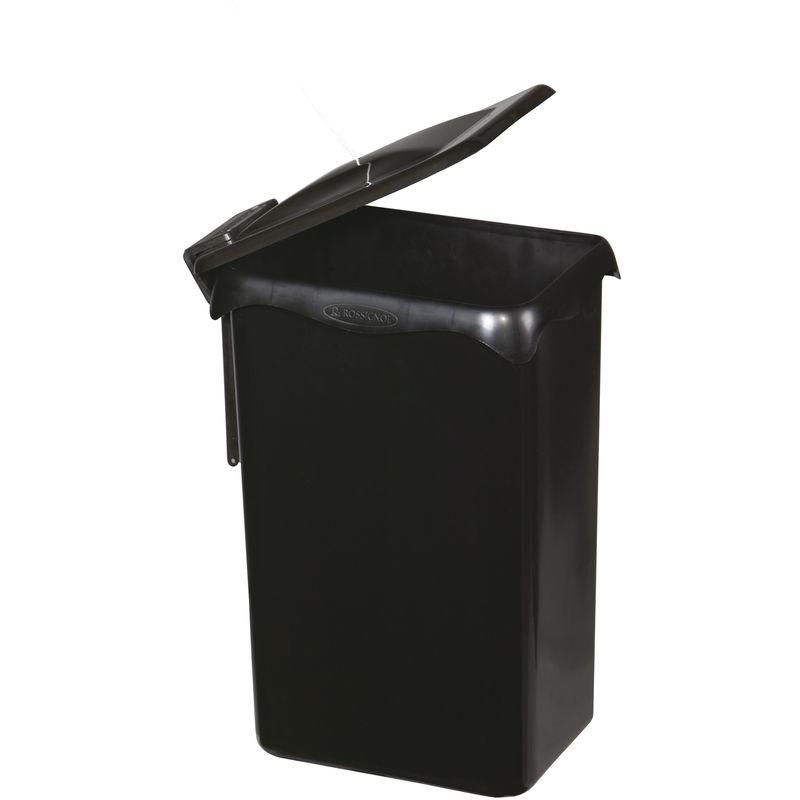 Cubo de basura integrado en un armario empotrado
