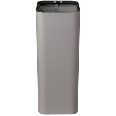 Poubelle PURE, capacité 100 l, l x h x p 385 x 800 x 385 mm gris