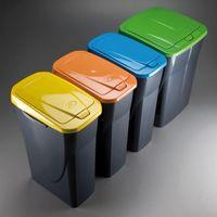 Poubelle recyclage 25 LT.