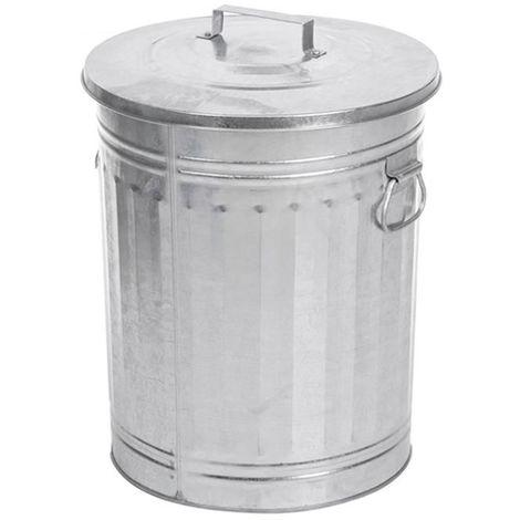 Poubelle Trash Can Retro 54 L
