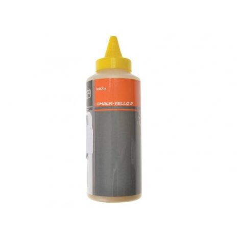 Poudre à tracer 227g CHALK- YELLOW Bahco