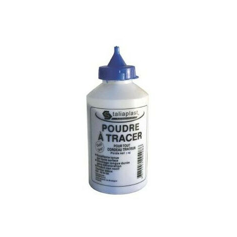 Poudre à traçer bleue 180g   400407 - Taliaplast