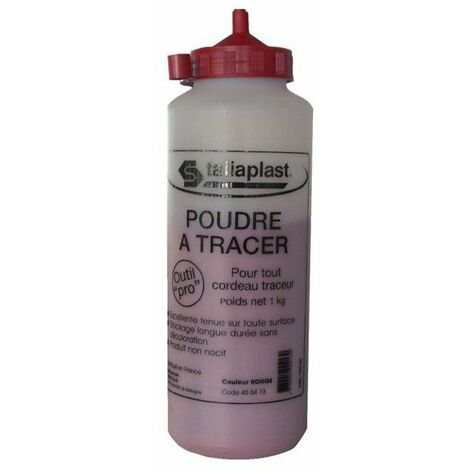 Poudre a tracer rouge 1000g