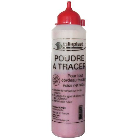 Poudre A Tracer Rouge 360G - Taliaplast - 400414