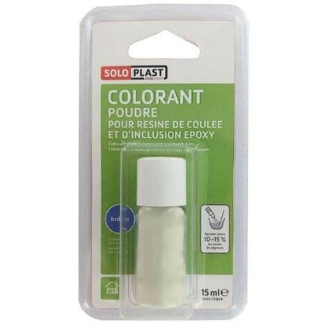 Poudre colorante pour résine SOLOPLAST 15ml Indigo