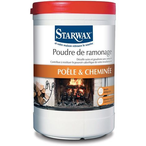 Poudre de ramonage pour cheminée 1kg - Starwax