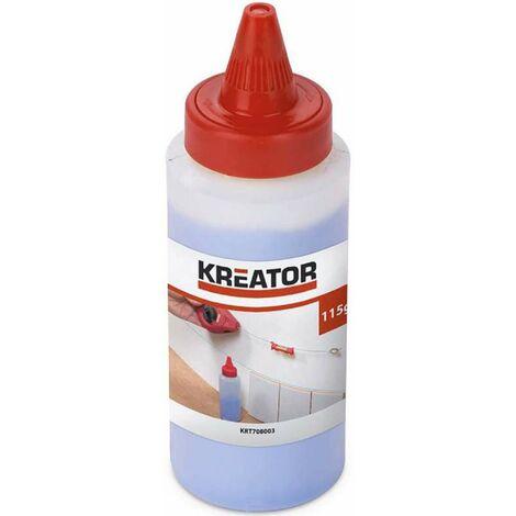 Poudre de traçage bleue pour cordeau Kreator 115g