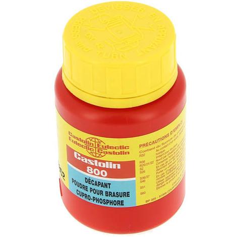 Poudre décapante pour brasure cupro-phosphore,le pot de 100g