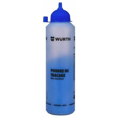 Poudre Pour Cordeau De Traçage Bleu 400g BLEU Wurth - BLEU