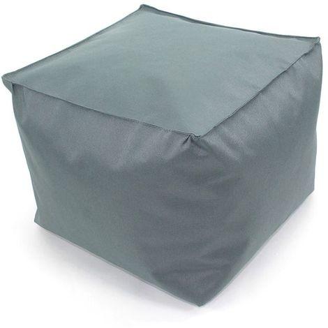 POUF A TOUT IN et OUTDOOR - <p>Pouf pour intérieur et extérieur gris 30x30</p> - Gris