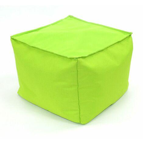 POUF A TOUT IN et OUTDOOR - <p>Pouf pour intérieur-extérieur anis 30x30</p> - Vert