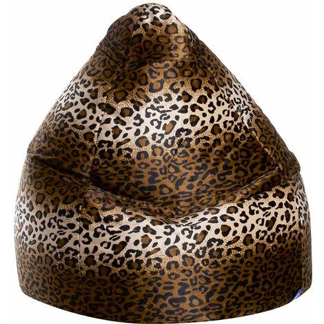 Pouf poire Afro