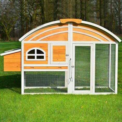 poulailler en bois pour jardin ext rieure 3 5 poules cage. Black Bedroom Furniture Sets. Home Design Ideas
