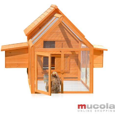 Poulailler, maison de poulet, étable petit animal, poulets lièvre, enclos, cage de lapin, clapier