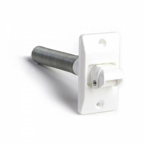Poulie 9108 nylon orientable blanc (blister) cambesa