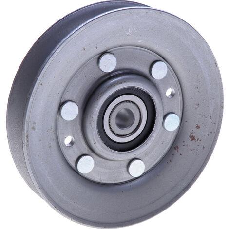 Poulie à gorge en V 108x24x9,5mm pour autoportée AYP remplace 146763, 173902