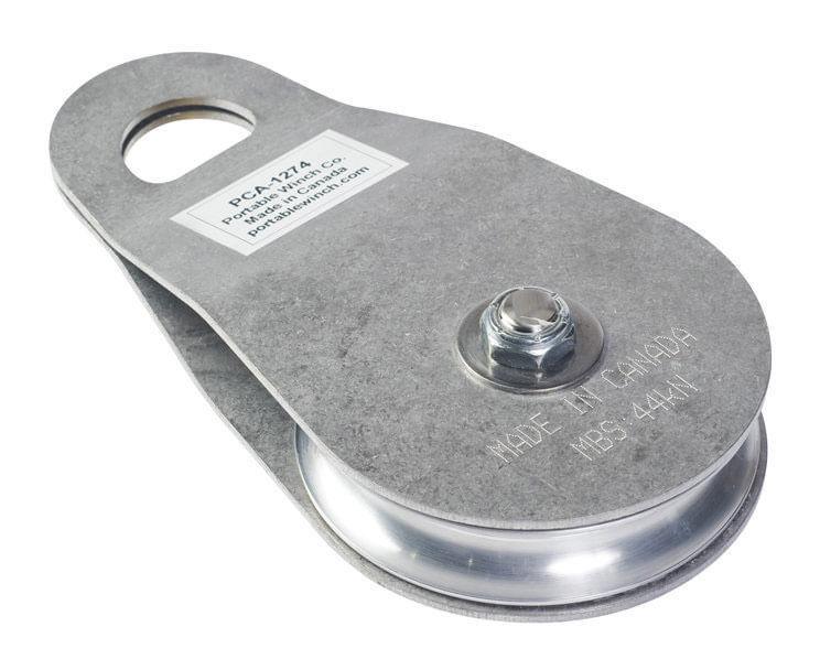 Appareil De Levage-matisere - Poulie de treuil a cotés oscillants en acier inoxydable