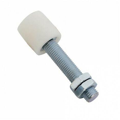 Poulie guide nylon pour portail - Ø40mm - L109mm