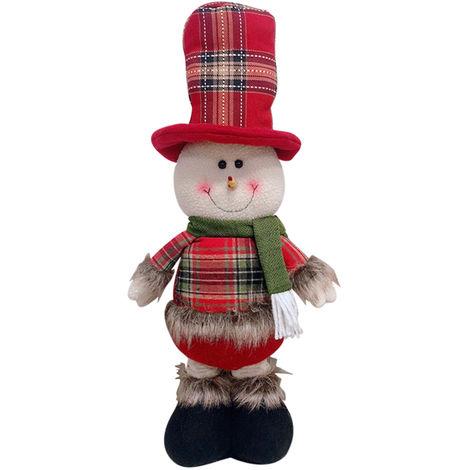 Poupee Extensible De Noel, Decorations De Fete De Noel