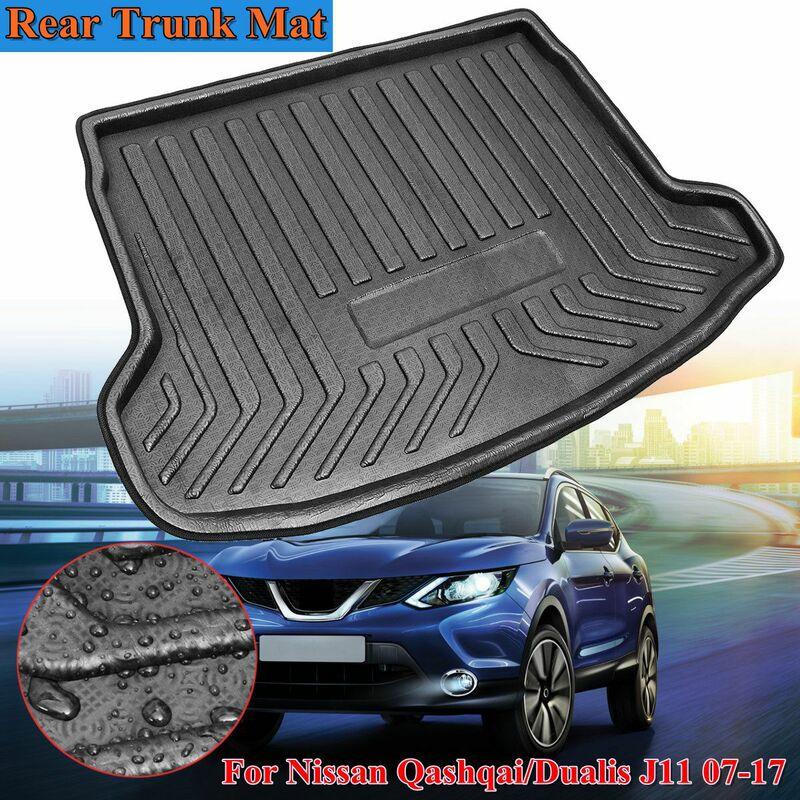 Pour Nissan Qashqai / Dualis J11 2007-2018 tapis de coffre arrière plateau coffre doublure de cargaison protecteur de coussin