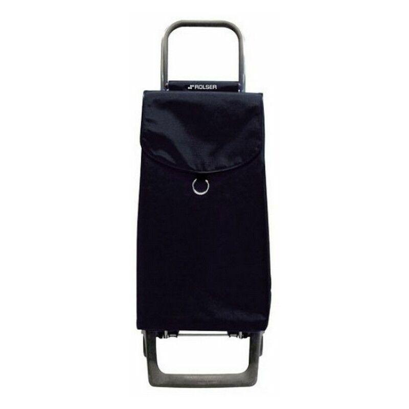 poussette de marché 2 roues 39l noir - pep001noir - rolser