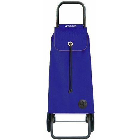 poussette de marché 2 roues 43l bleu - imx001azul - rolser