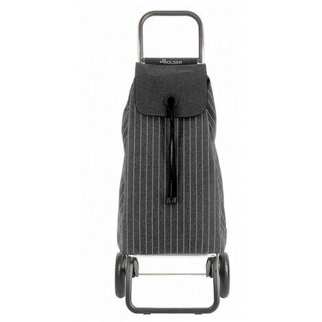 poussette de marché 2 roues 43l carbone - imx238carbon - rolser