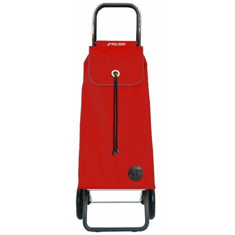 poussette de marché 2 roues 43l rouge - imx001rojo - rolser
