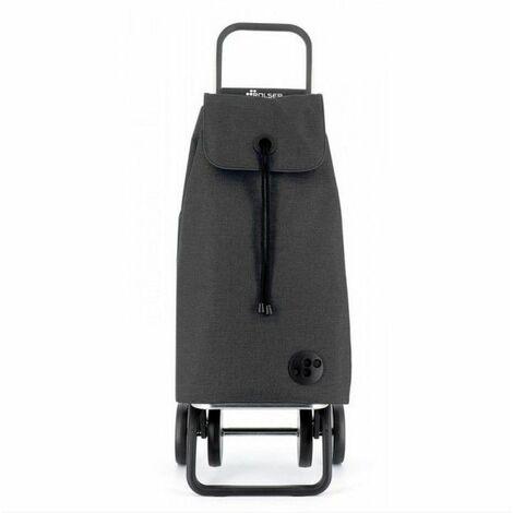 poussette de marché 4 roues 43l noir - imx222negro - rolser