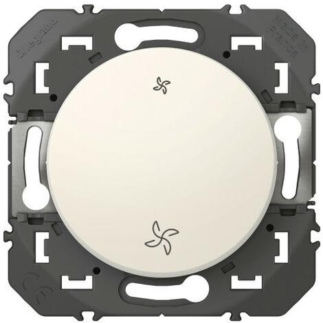 Poussoir commande VMC dooxie finition blanc (600006)
