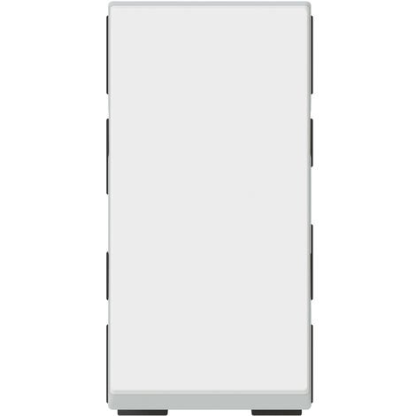 Poussoir lumineux 6 A Legrand - Mosaïc - 1 module - Blanc