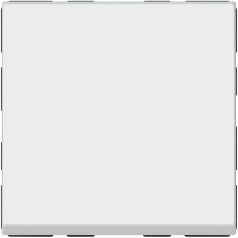 Poussoir lumineux 6 A Legrand - Mosaïc - 2 modules - Blanc