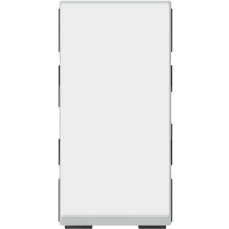 Poussoir lumineux Mosaic composable - Voyant fourni - 1 module - Blanc - Legrand
