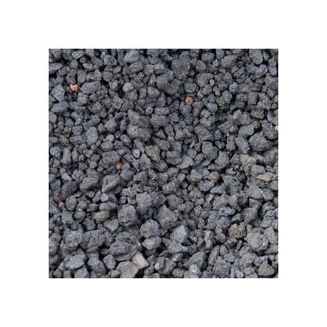 Pouzzolane décorative noire 7/15 160 Kg