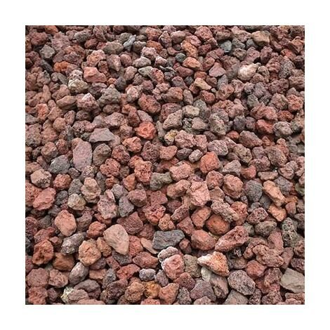 Pouzzolane décorative rouge 7/15 400 Kg - 20x20kgs