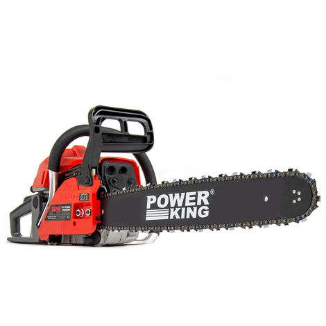 Power King 20'' Petrol Chainsaw 52cc with Easy Start