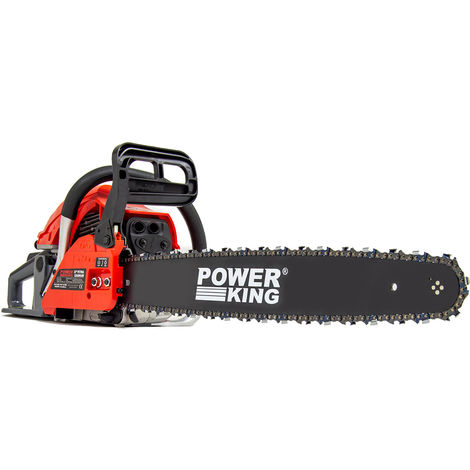 Power King 22'' Petrol Chainsaw 58cc with Easy Start