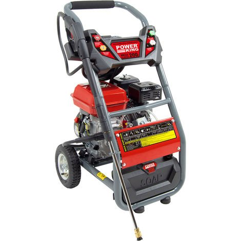 Power King Mega Blaster 200 Petrol Pressure Washer