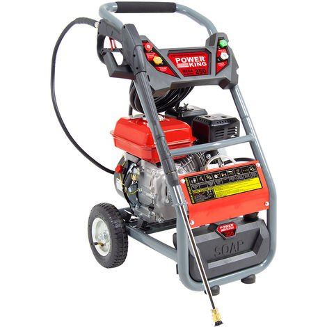 Power King Mega Blaster 250 Petrol Pressure Washer