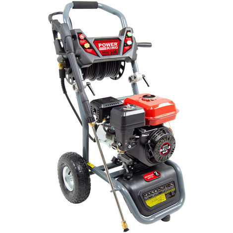 Power King Mega Blaster 300 Petrol Pressure Washer