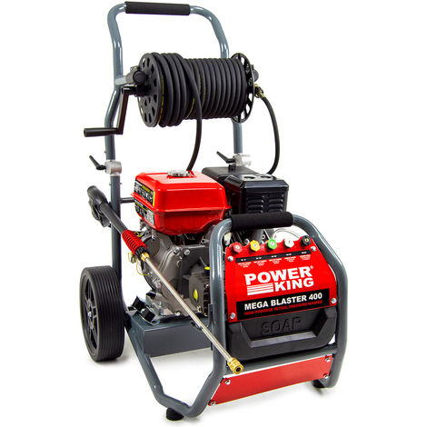 Power King Mega Blaster 400 Petrol Pressure Washer