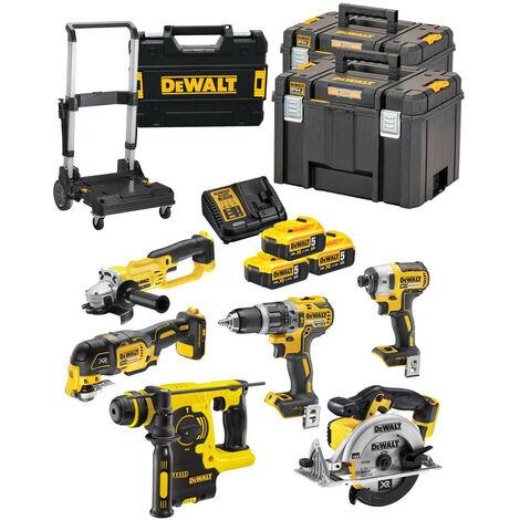 Power kit 6 herramientas Dewalt a batería DCK645P3T