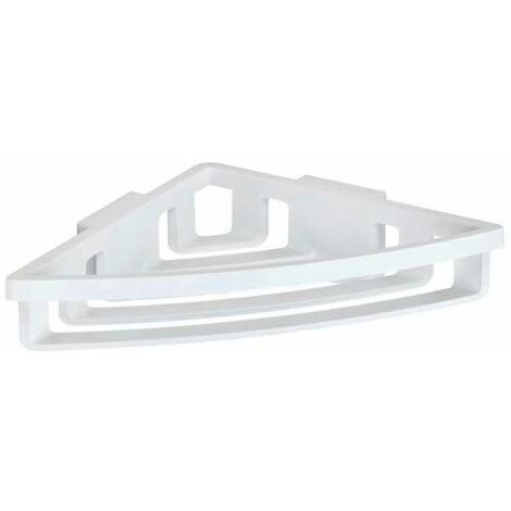 Power-Loc® corner shelf Bralia white WENKO