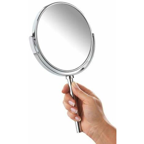 Power-Loc® hand-held and wall-mounted cosmetic mirror Elegance WENKO