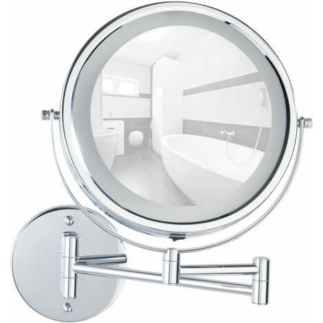 Power-Loc Espejo con Luz Lumi