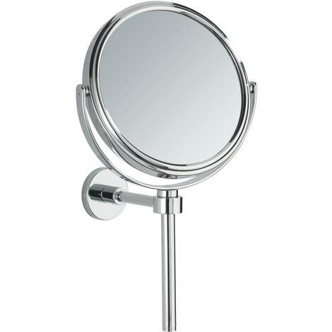 Power-Loc® miroir grossissant mural sans perçage, x30, Ø 15 cm, Elegance WENKO