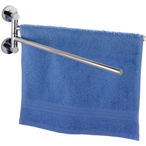 Power-Loc® toallero dos brazos giratorios Elegance WENKO